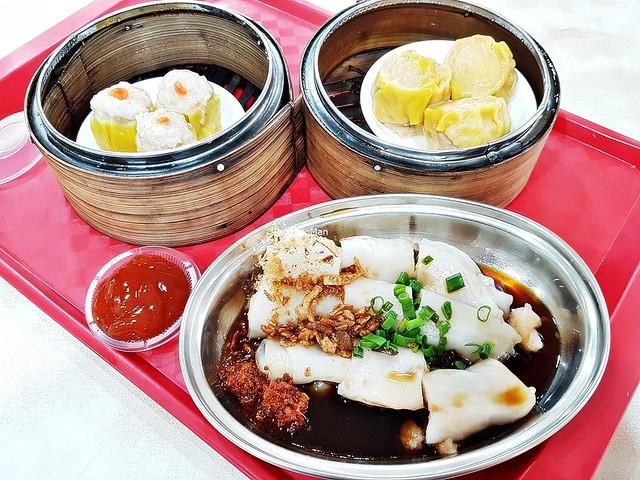 Dim Sum Meal Flat Lay