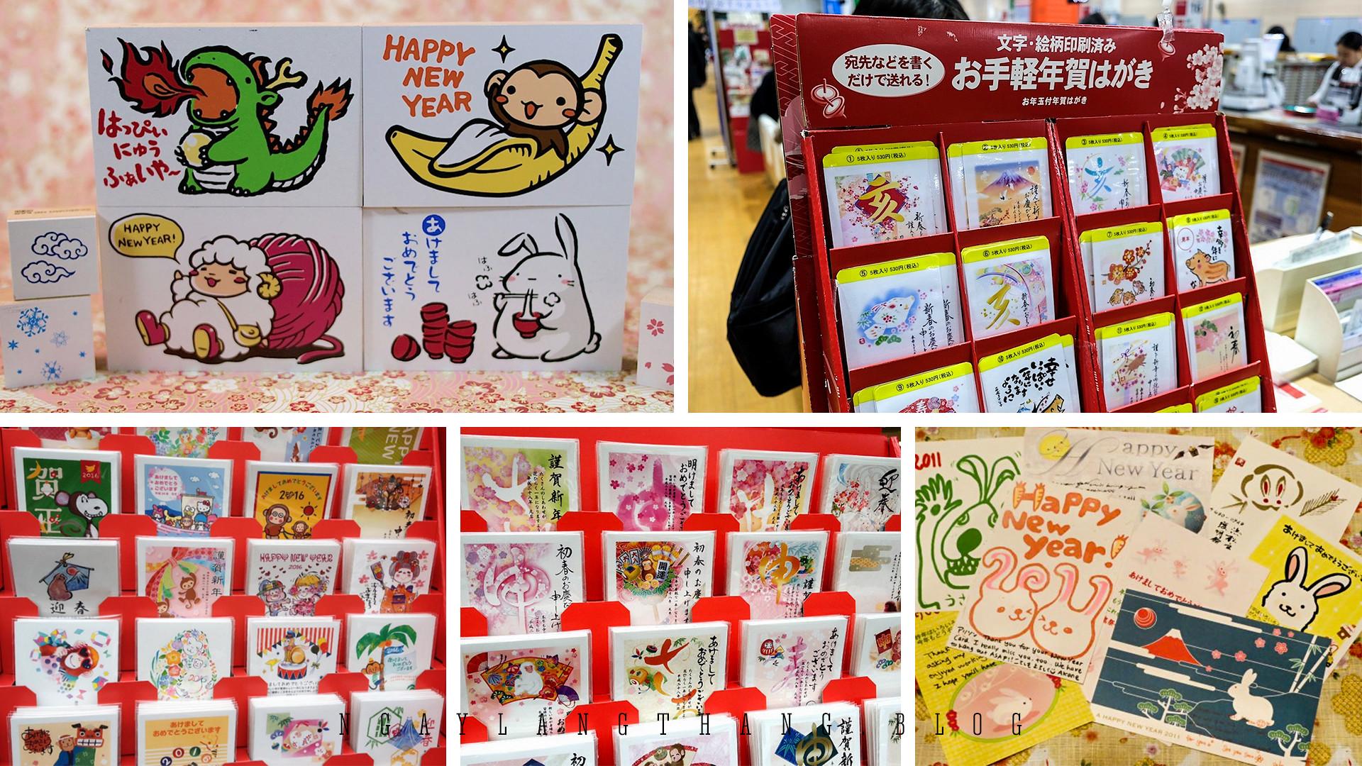 Nhật Bản tuần cuối năm-nengajo-ngaylangthang
