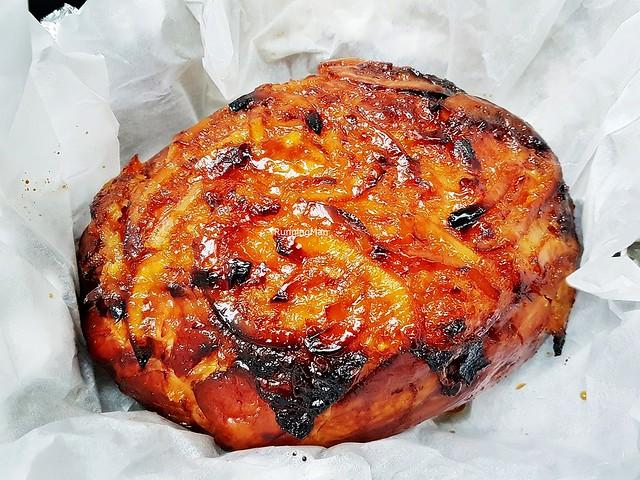 Orange Marmalade Glazed Whole Gammon Ham