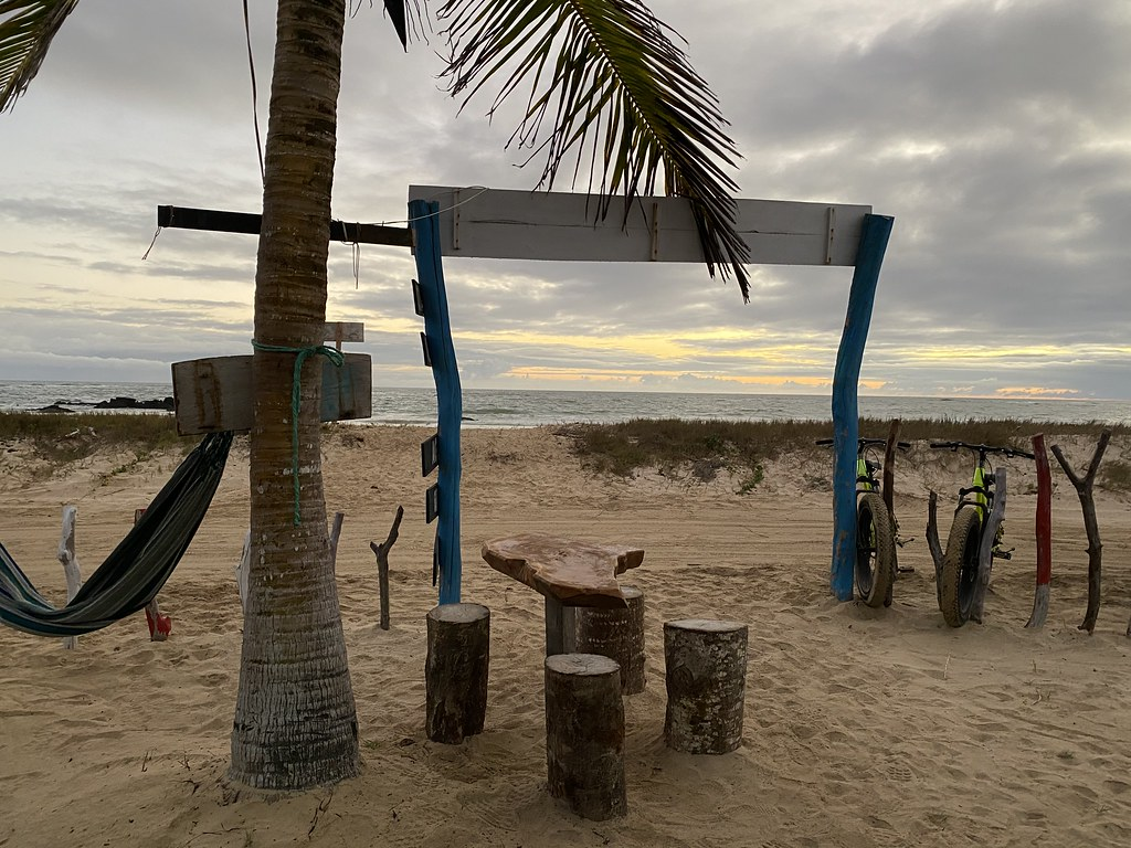 Bar Atardecer (Sunset Bar), Puerto Villamil, Isabela Island, the Galápagos Islands, Ecuador.