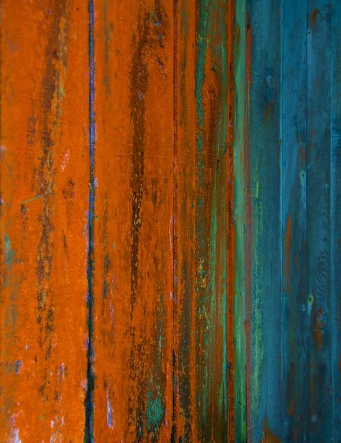 Kona cabin wall