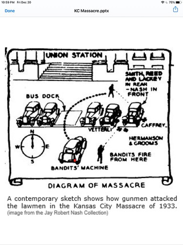 Diagram of Kansas City Massacre | by cpsnklcx81