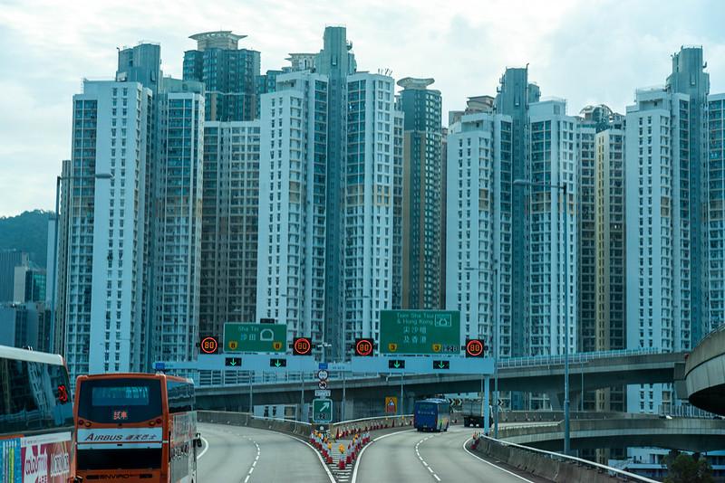香港の高速道路