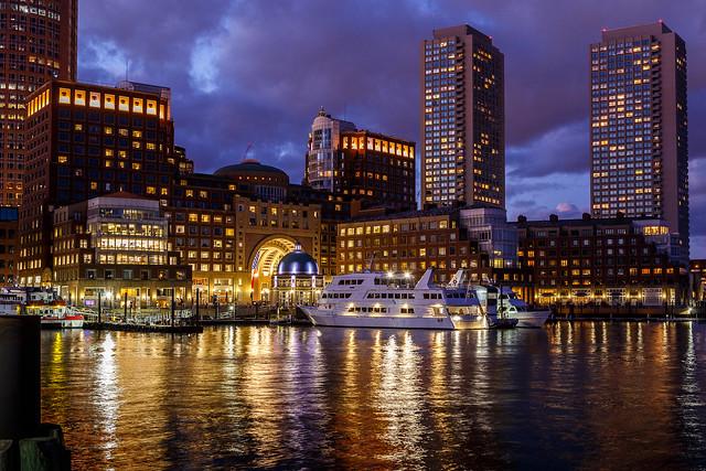 Boston @ Blue Hour