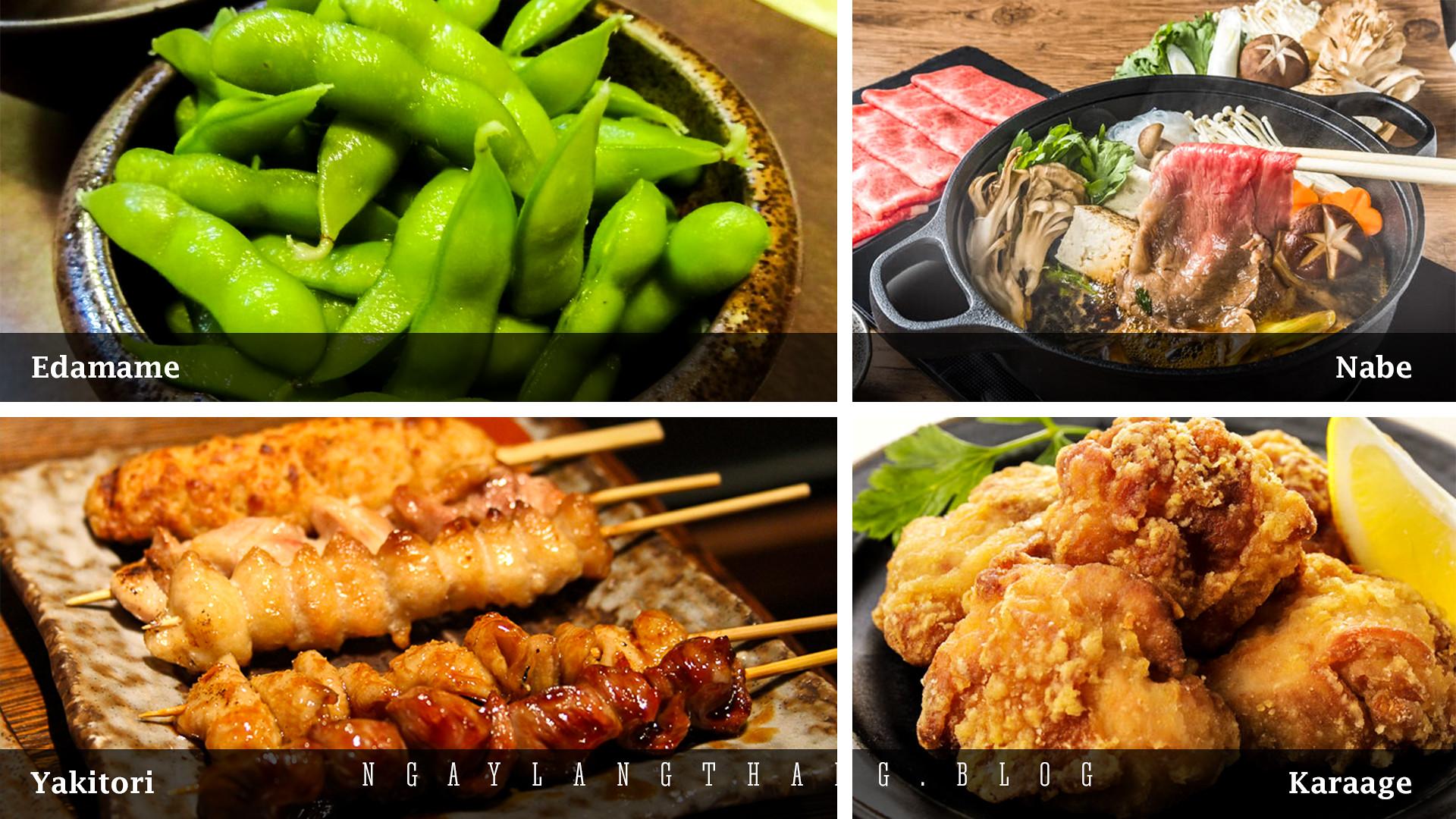 Nhật Bản tuần cuối năm-menu-bonenkai-ngaylangthang