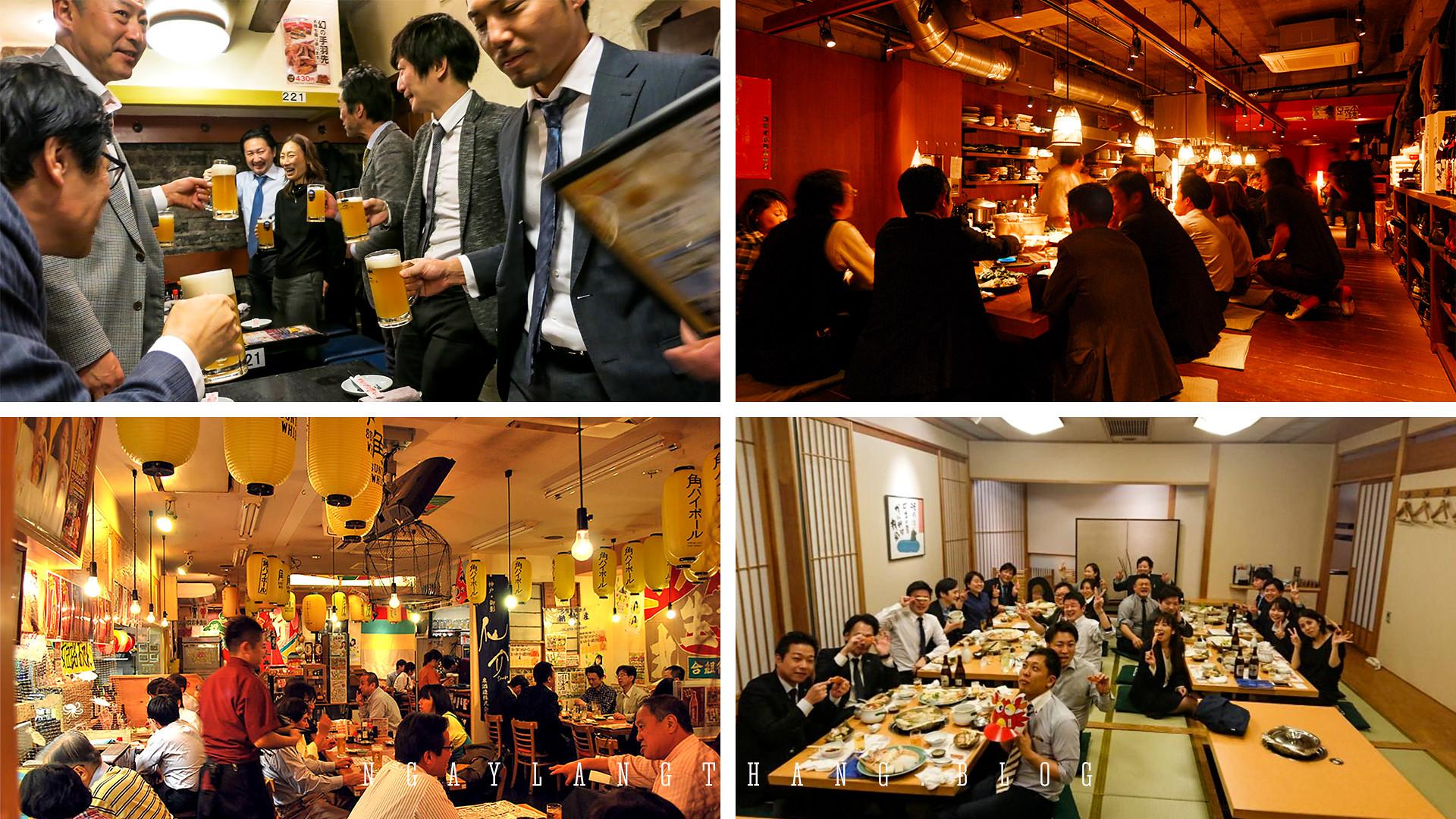 Nhật Bản tuần cuối năm-izakaya-bonenkai-ngaylangthang
