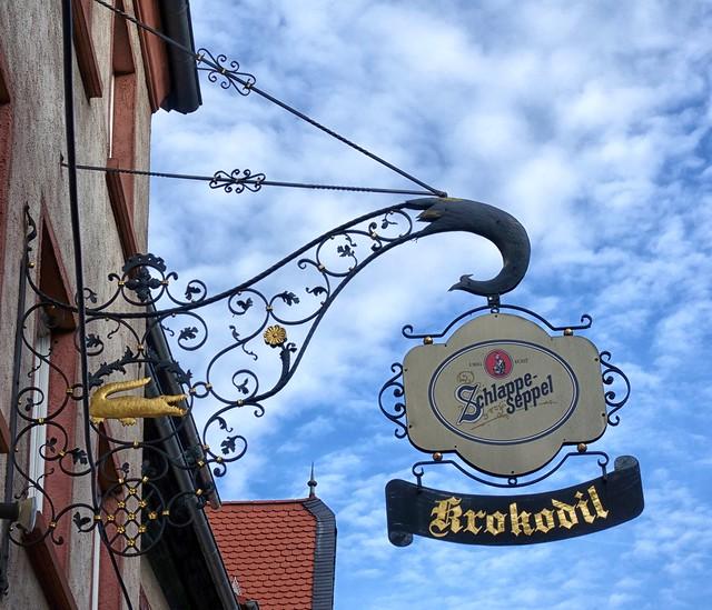 Aschaffenburg Krokodil