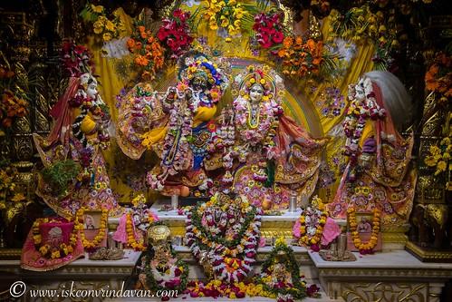 ISKCON Vrindavan Deity Darshan 21 Dec 2019