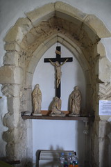 crucified (north doorway)