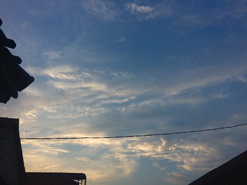 sunset westjava home cable 5s iphone5s moment scene easy angle position portrait photography shootoniphone candid explore flickr unposed build city street afternoon line cloud sunny glow blue life sky