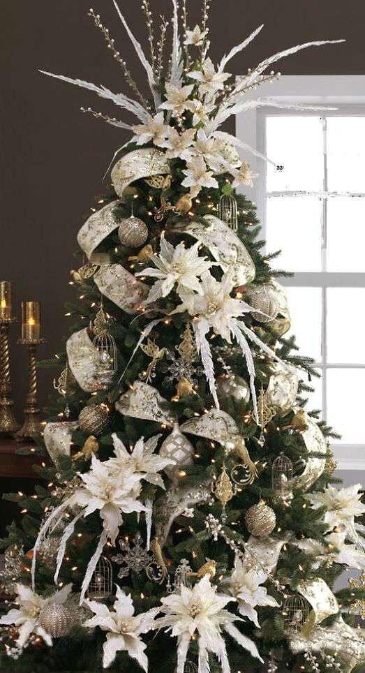 Idee per decorare un albero di Natale verde(1)