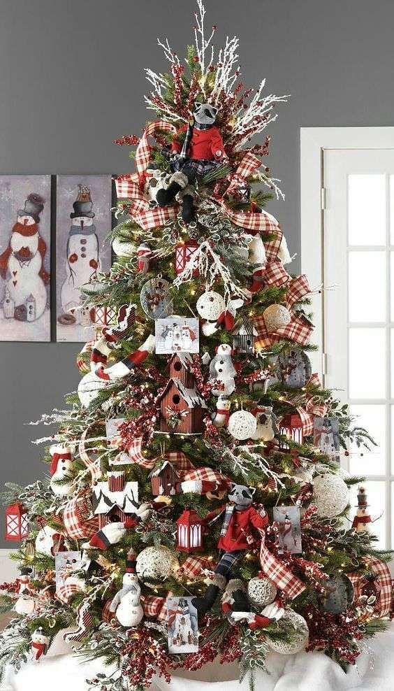 Addobbi natalizi per l'albero