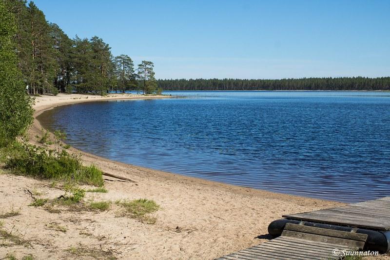 Suomu, uimaranta, Patvinsuon hiekkarannat
