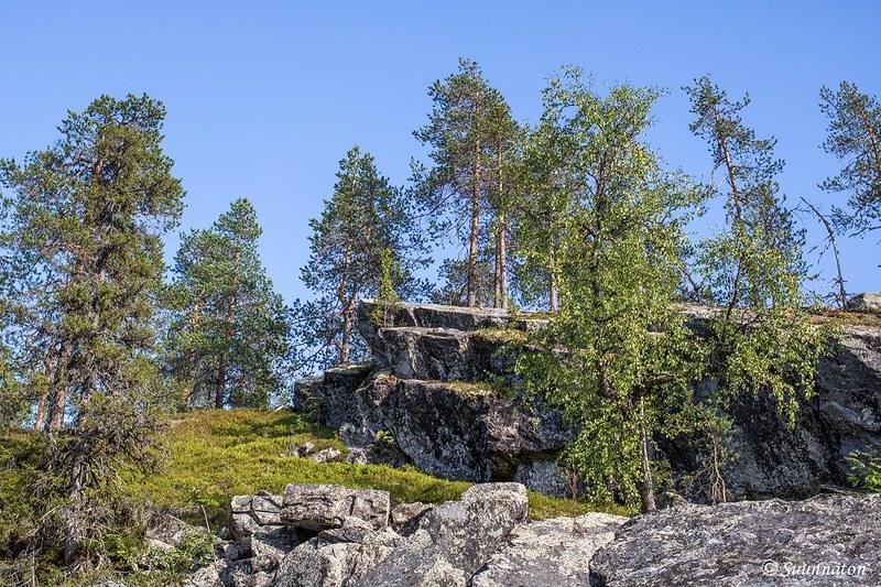 Valtavaaran huiputus, 22 kallio