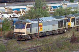 Flickr The Class 60 Diesel Locomotives Pool