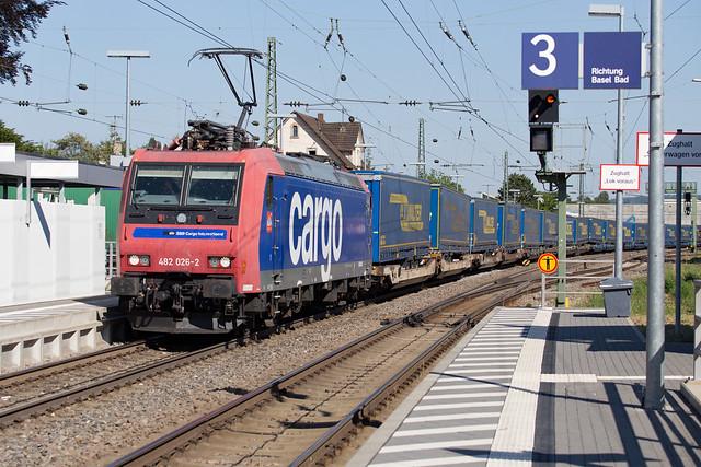 SBB Cargo 482 026 Efringen-Kirchen