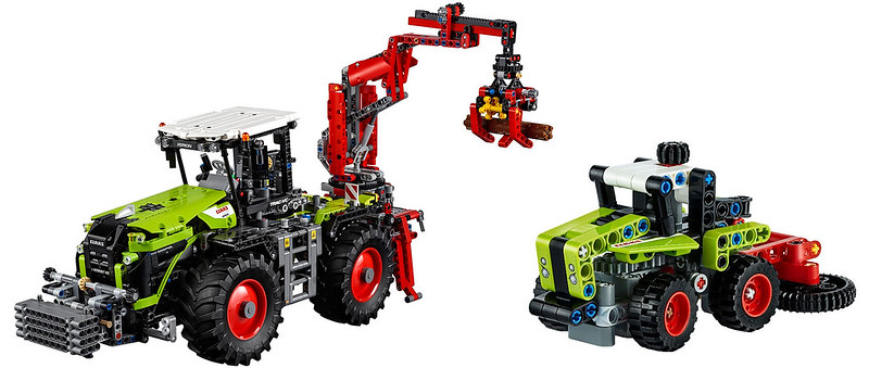 Technic CLAAS Compare