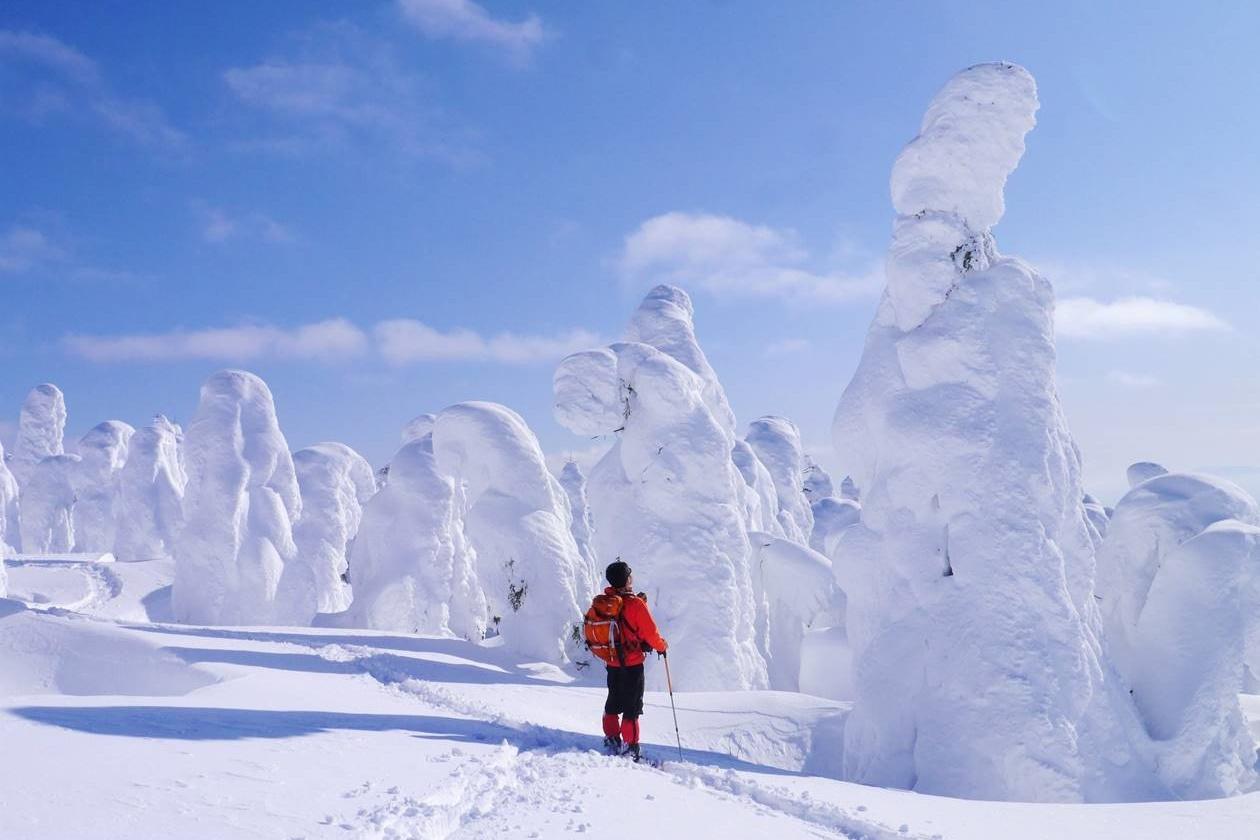 蔵王 樹氷・スノーモンスター 雪山登山