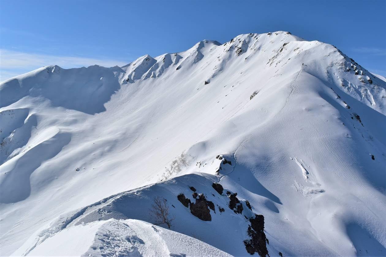 冬の南アルプス・仙丈ヶ岳