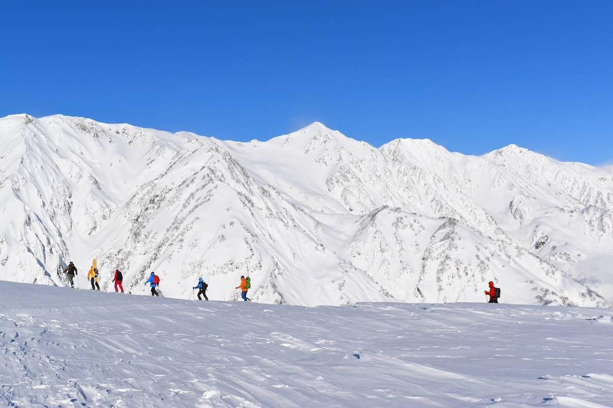 冬の北アルプス・白馬岳
