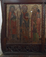 rood screen: St James the Less, St Thomas, St James