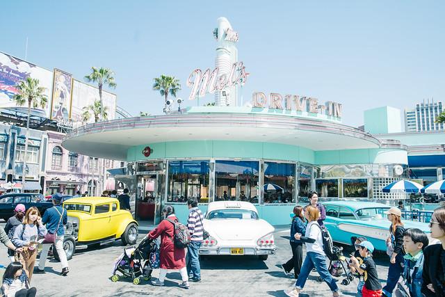 Universal Studios Japan: Mel's Drive-In