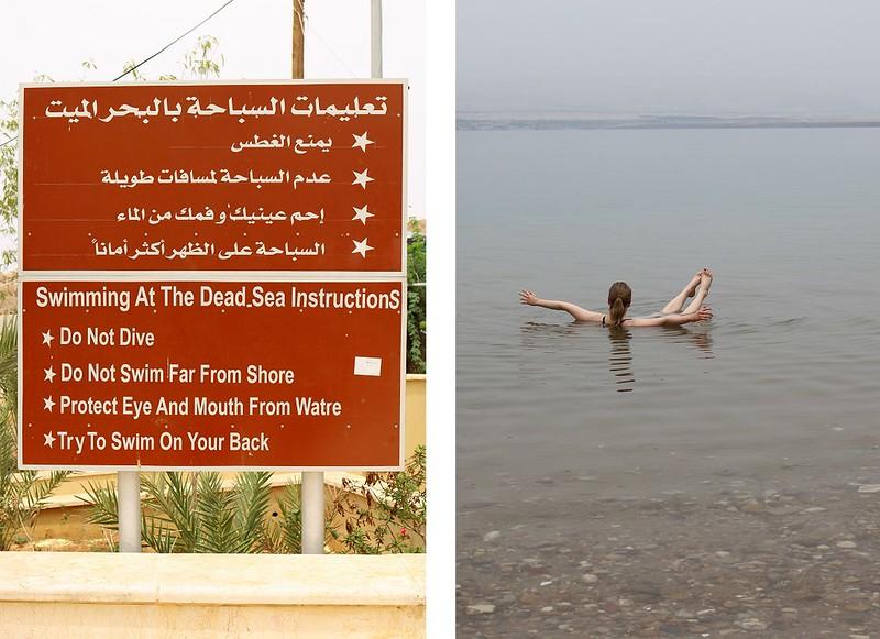Dead sea, instructions