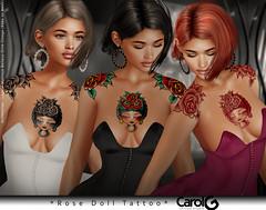 Rose Doll TaTToo [CAROL G]