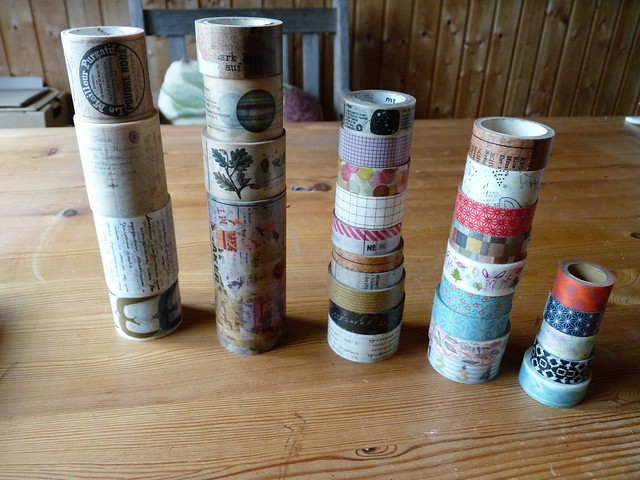 All my masking tapes