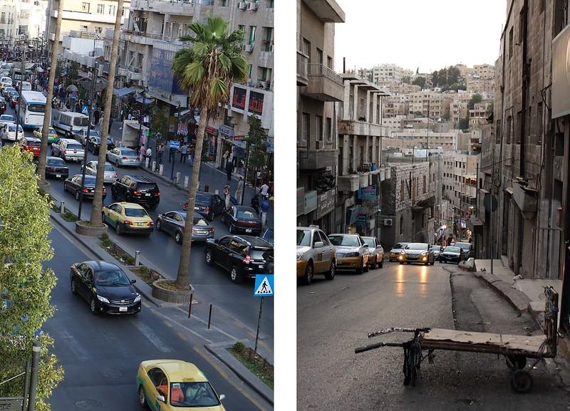 Amman, katuja