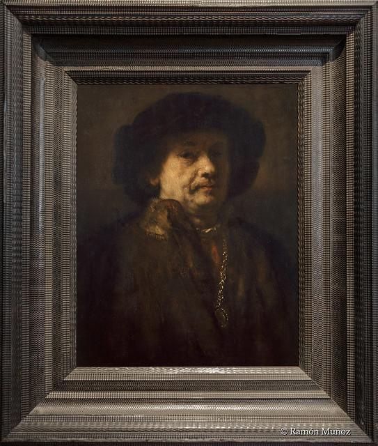 DSC2087 Rembrandt van Rijn - Autorretrato con abrigo de piel, cadena de oro y pendiente, 1656-57, Kunsthistorisches Museum, Viena