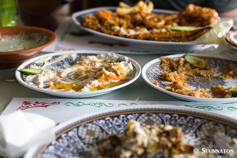 Aqaba, ruoka
