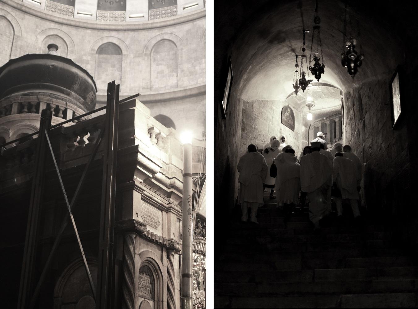 Jerusalem, Pyhän Haudan kirkko, hauta, armenialaiset