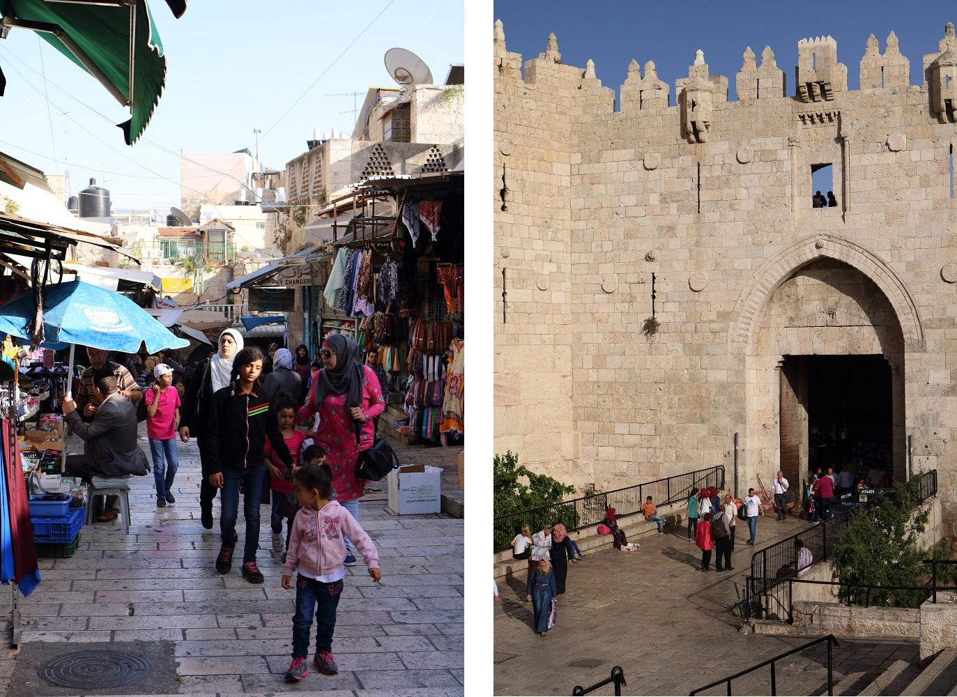 Jerusalem, Damaskoksen portti