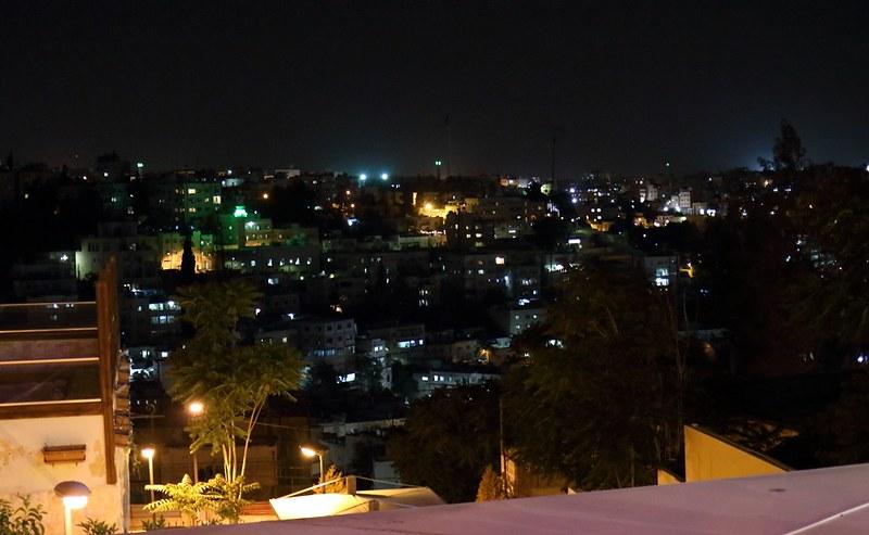 Amman, näkymä ravintolasta