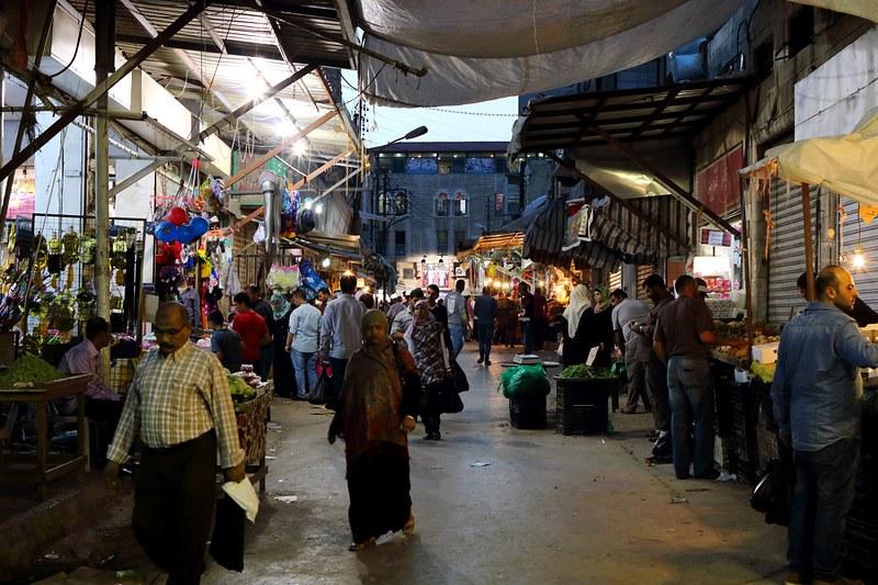 Amman, markkinakatu
