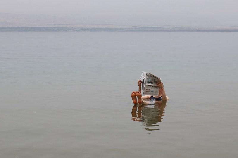 Dead sea, newspaper
