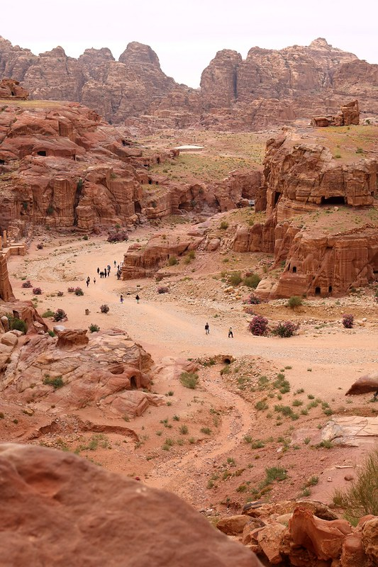 Petra korkealta