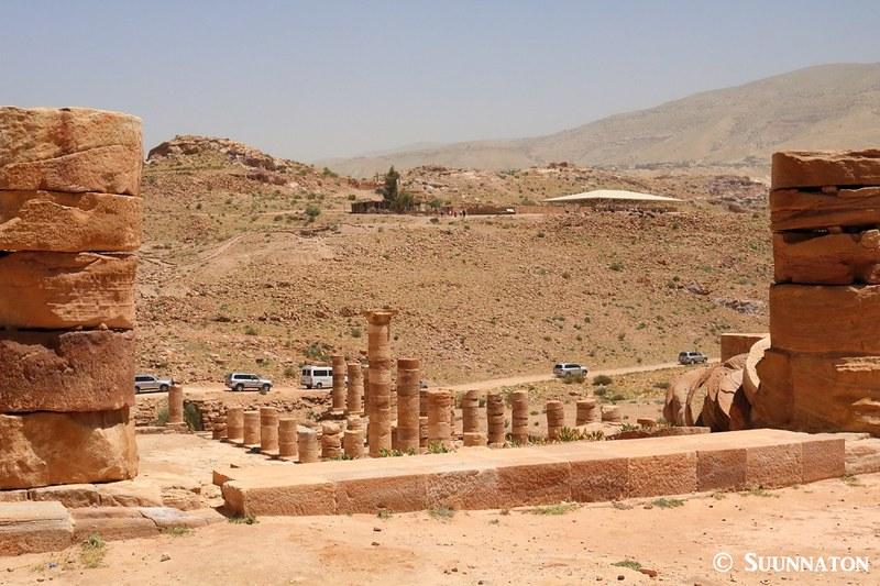 Roomalaiset rauniot, Petra, autosaattue