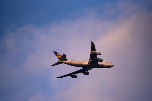 luftansa airlines boeing 747 b747 gabyk banking