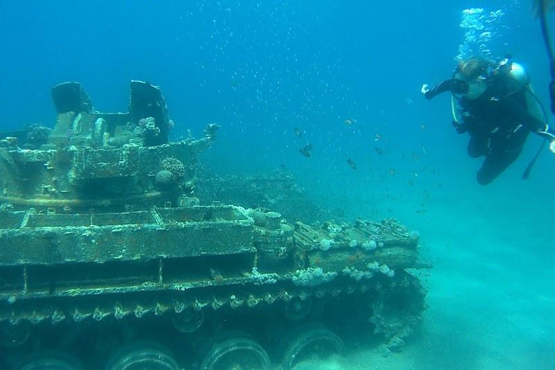 Aqaba, tank