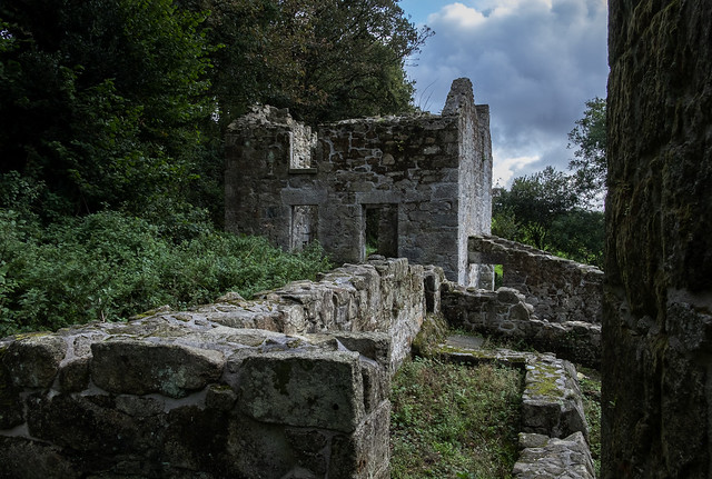 Pan Kiln and Miller's Cottage, Trevear China Stone Mill, Tregargus