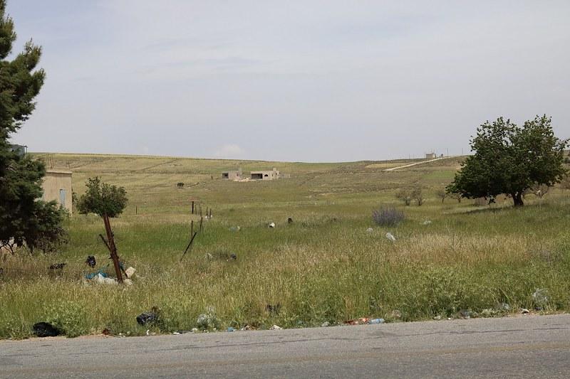 Maisemia Wadi Musan lähellä