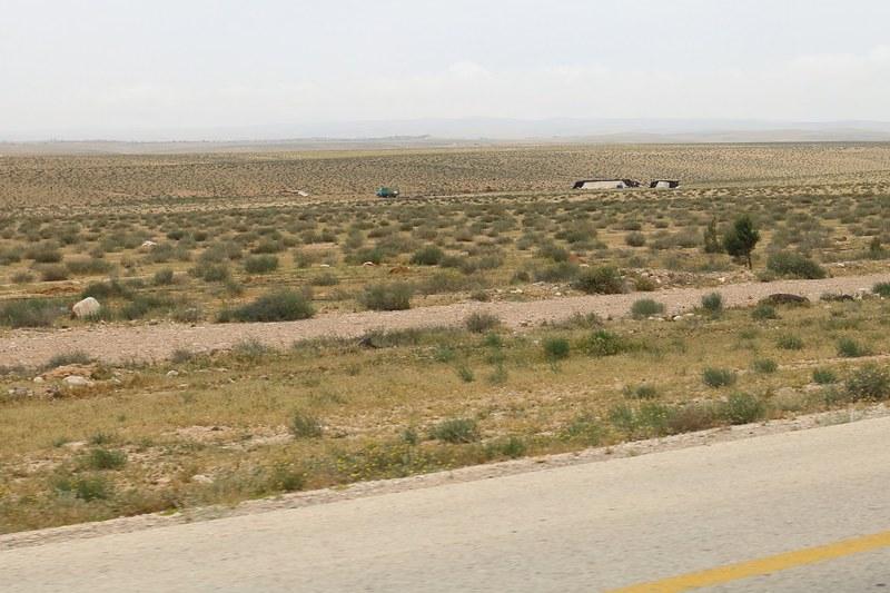Beduiineja Wadi Musan lähellä