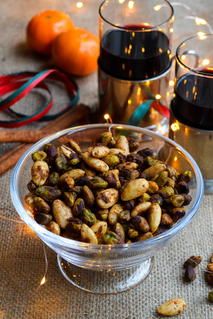 How To Make Festive Spiced Nuts
