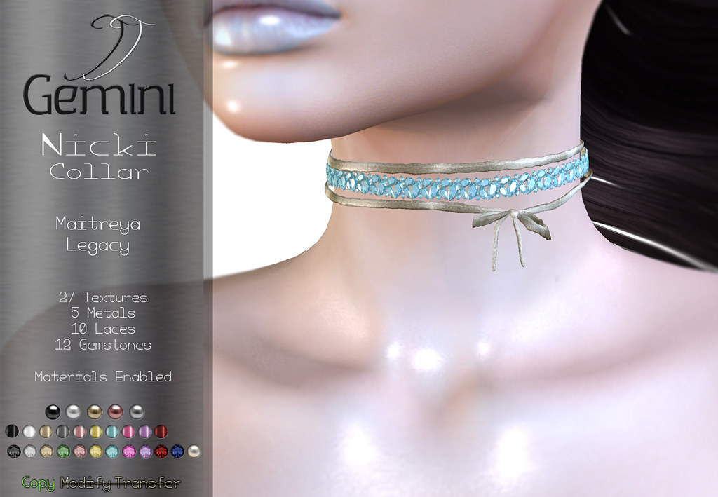 •Gemini -Nicki Collar- @ Shiny Shabby•