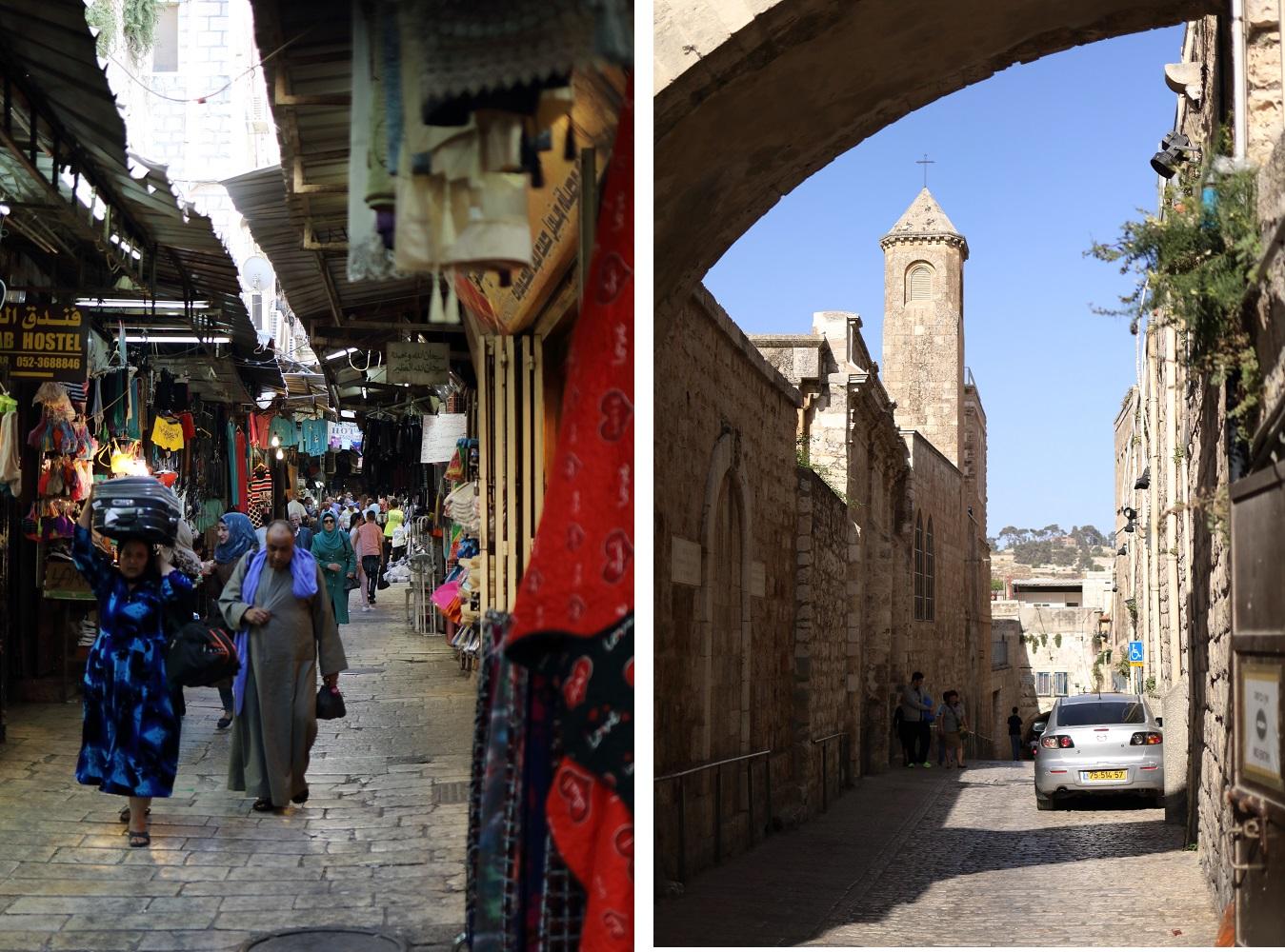 Jerusalem, Via Dolorosa, katukuva
