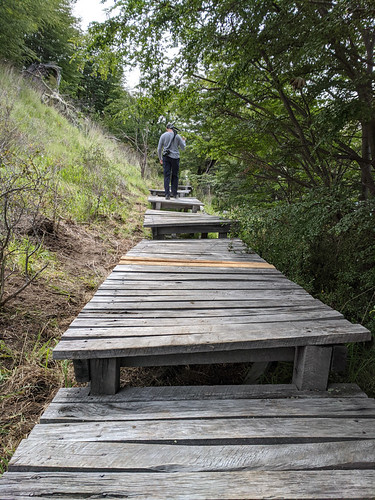 boardwalk trail to Salto Chico