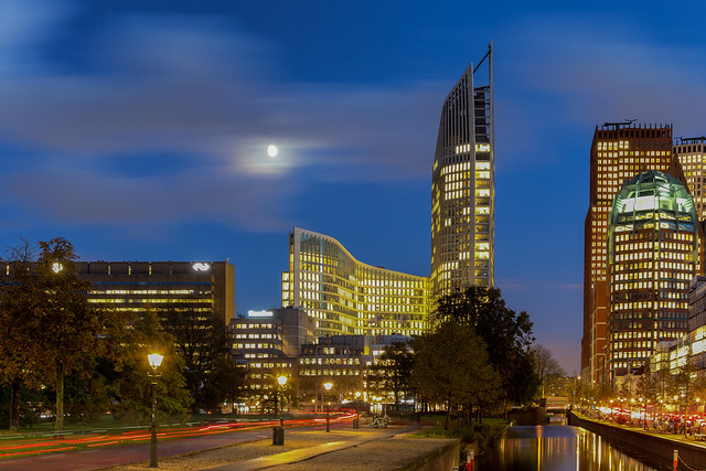 Full moon in The Hague 2019