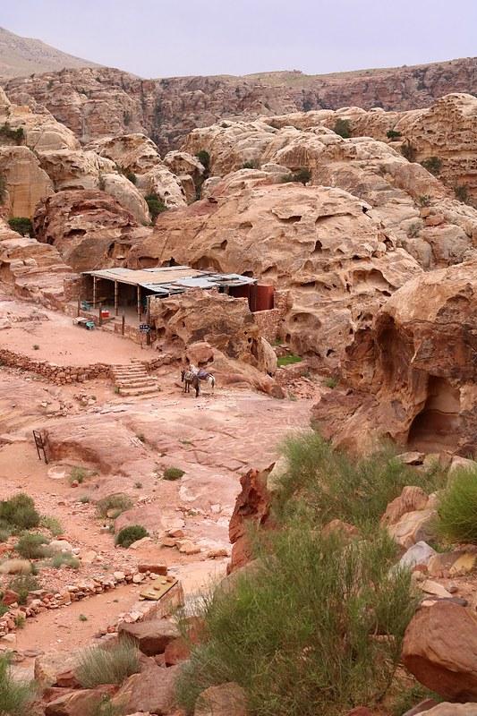 Myymälätila huipulla, Petra